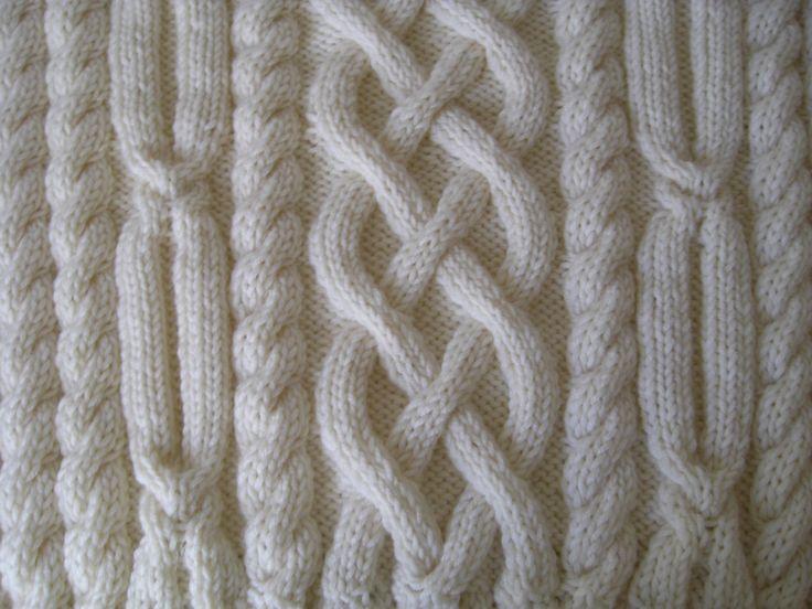 Aran Pullover stricken