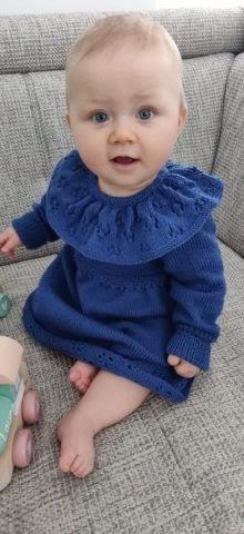 kostenlose Anleitung zum Kinderkleid stricken