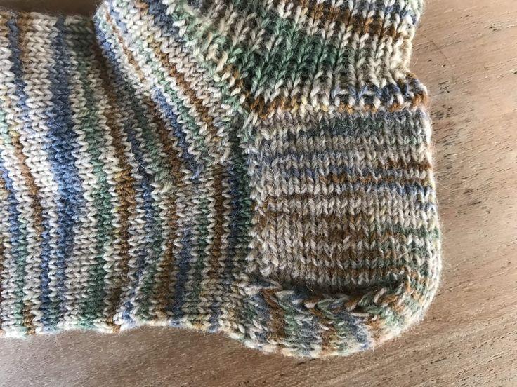 Ferse stricken für Socke