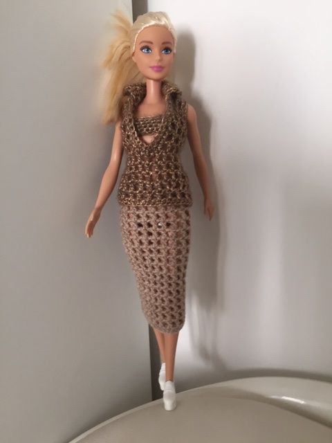 Barbie Häkelkleid