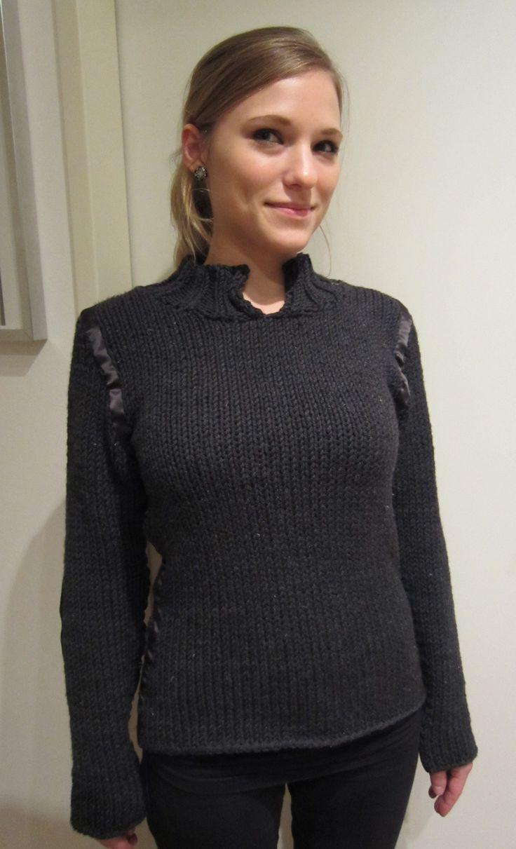 Pullover stricken mit Anleitung