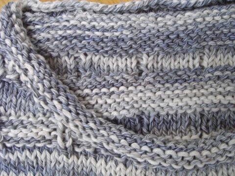 Herrenpullover stricken mit einfachem Grundmuster